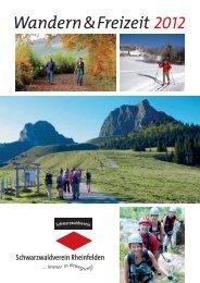 Jahresprogramm 2012 - Schwarzwaldverein Rheinfelden