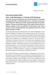 PM EH Rating 2 - Euler Hermes Rating Deutschland GmbH