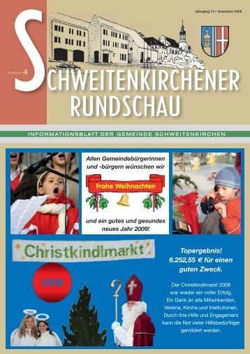 Rundschau 04/2008 - Gemeinde Schweitenkirchen