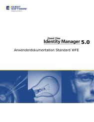 Standard WFE - Quest Software