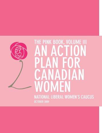 THE PINK BOOK, VOLUME III - YWCA Canada
