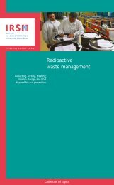 Bookleet : Radioactive waste management - IRSN