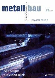 SONDERDRUCK - Institut Feuerverzinken GmbH