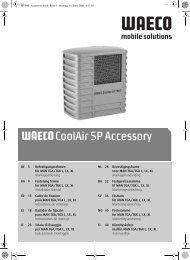 CoolAir SP Accessory - Waeco