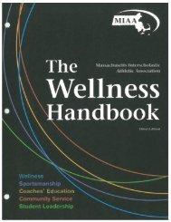 Wellness Handbook - Massachusetts Interscholastic Athletic ...