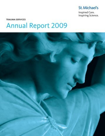 Trauma Services Annual Report 2008/09 - St. Michael's Hospital