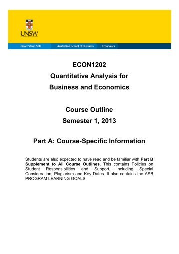 Ii  Quantitative Analysis In Business Administration    Iis Ru