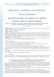 Journal officiel de la République française - N° 178 du 3 août ... - Afnic