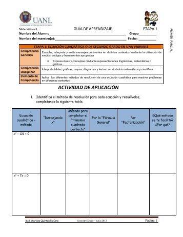 Guía de Aprendizaje etapa 1 - Preparatoria 22