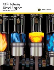 Off-Highway Diesel Engines - John Deere Hjem