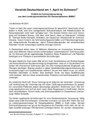 Versinkt Deutschland am 1. April im Schmerz? Entfällt ... - David e.V.