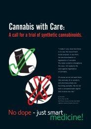 Cannabis With Care - Drug Free Australia