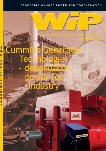Cummins Generator Technologies - Global Media Publishing Ltd ...