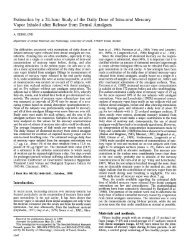 Estimation by a 24-hourStudy of the Daily Dose of ... - Dental-Revue