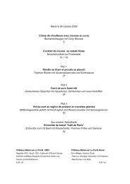 Mardi le 24 octobre 2006 Crème de choufleure avec mousse au ...