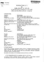 Elektronický obraz smlouvy - Extranet - Kraj Vysočina