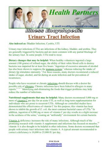 Urinary Tract Infections/Dysuria