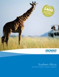 Southern Africa - GOGO Worldwide Vacations