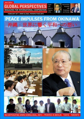 GLOBAL PERSPECTIVES | February 2011 - JAPAN EDITION