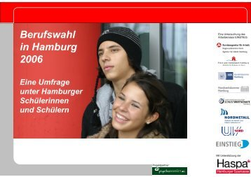 Berufswahl in Hamburg 2006
