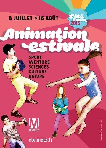 Téléchargez le livret - Animation Estivale - Ville de Metz