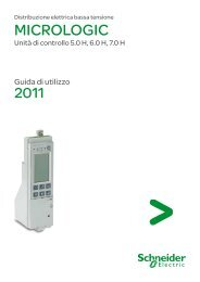 Scarica il Manuale Micrologic H (.pdf 6,61 Mb) - Schneider Electric
