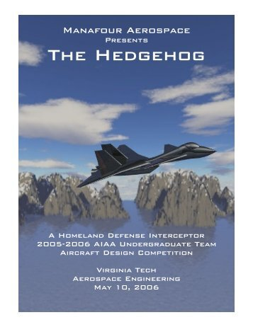 ThE HEDGEhOG - the AOE home page - Virginia Tech