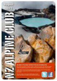 Aug (425kb) - New Zealand Alpine Club