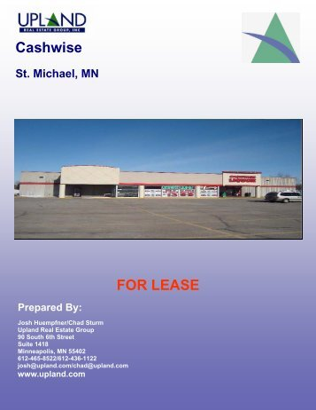 St. Michael Marketing Package - Upland Real Estate Group