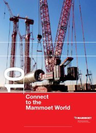 Connect to the Mammoet World - Mammoet BV