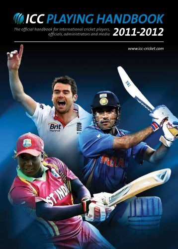 ICC Playing Handbook 2011-12 - International Cricket Council