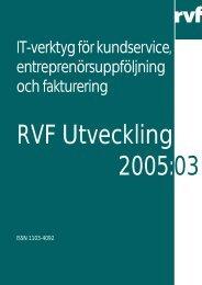 IT-verktyg för kundservice, entreprenörsuppföljning ... - Avfall Sverige