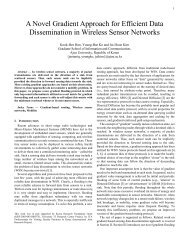 A Novel Gradient Approach for Efficient Data Dissemination in ...