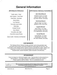 Working copy Activity Guide Spring 2010 - Oshawa Senior Citizens ...