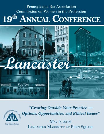 Lancaster - Pennsylvania Bar Association