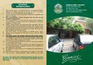Holiday Hotel Brochure (PDF) - Eunice High School