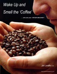 Wake Up and Smell the 'Coffee' - Blueiceconsulting.co.uk