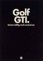 Golf - Volkswagen Classic