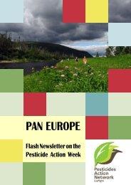 Read Newsletter - PAN Europe