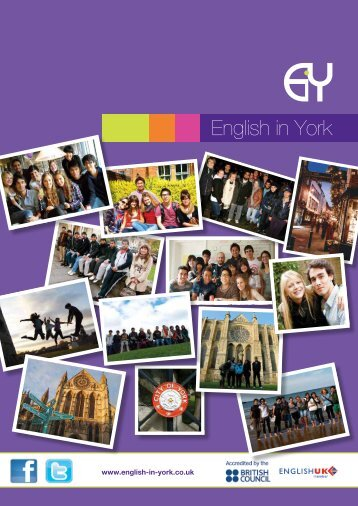 English in York - English in Britain