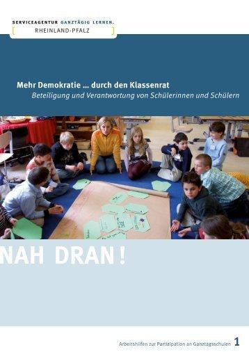 Mehr Demokratie … durch den Klassenrat - Ganztägig Lernen
