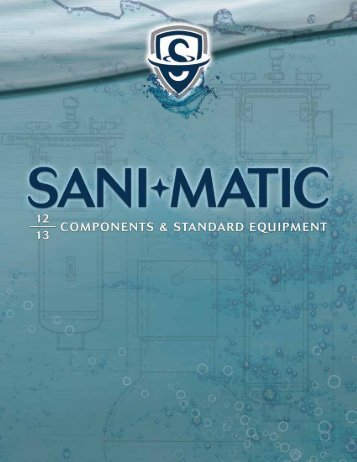 Components Catalog - Sani-Matic, Inc.