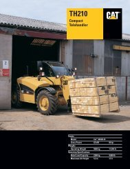 Specalog for TH210 Compact Telehandler, AEHQ5513 - Kelly Tractor