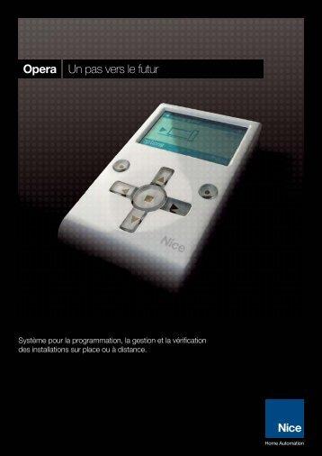Opera Un pas vers le futur - Nice SpA
