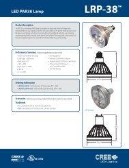LRP-38™ LED PAR38 Lamp - CBP Magazine