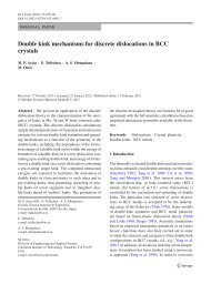 Double kink mechanisms for discrete dislocations in BCC crystals