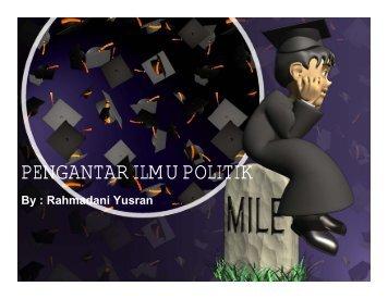 PENGANTAR ILMU POLITIK - Blogs Unpad