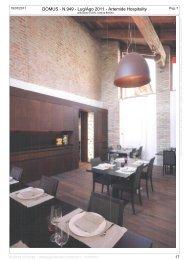 DOMUS - N.949 - Lug/Ago 2011 - Artemide ... - Boscolo Hotels