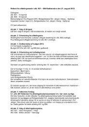 Referat fra afdelingsmøde for Rødkærsbro - Boligselskabet Sct ...
