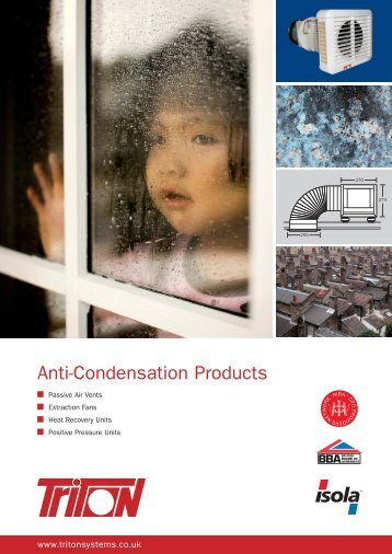 Anti Condensation Products Brochure Download - Triton Chemicals